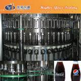 Полноавтоматическая машина воды соды стеклянной бутылки разливая по бутылкам