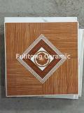 Azulejos de suelo de cerámica esmaltados mirada de madera de la pared