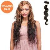 O Weave de trama do cabelo do cabelo humano do Virgin de Remy empacota o Indian brasileiro