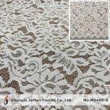 Cordon de coton tricotés textiles Allover tissu de dentelle pour les robes (M3460-G)
