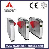 Standard Ala Retração Rápida óptico da porta de controle de acesso com a cobrança de tarifa