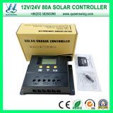 80A regolatore della carica del comitato della pila solare della batteria dell'affissione a cristalli liquidi PWM (QWP-1480RSL)