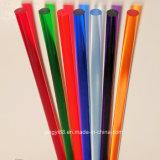 주문 명확한 색깔 아크릴 플렉시 유리 플라스틱 플라스틱 유리 로드