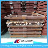 Matériel malléable de fonderie de fonte grise de flacon de moulage de flacons de bâti de fer de qualité
