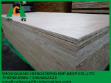 Panneau en bois stratifié par contre-plaqué de Blockboard