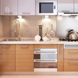 方法デザインヨーロッパ式の食器棚の台所ドア
