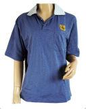 T-shirt de coton de DÉCHARGE ÉLECTROSTATIQUE de polo de DÉCHARGE ÉLECTROSTATIQUE