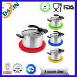 Tapete promocional para copo de silicone Copo de chá personalizado Copo de cozinha Cofre de isolamento de mesa