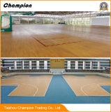 La pavimentazione impermeabile per gli sport dell'interno usati, stuoia di ginnastica del PVC di ginnastica del rullo del PVC del vinile mette in mostra la pavimentazione