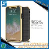 Гибридная крышка телефона случая задней стороны обложки PC TPU Tempered стекла для Samsung J7 ПРОФЕССИОНАЛЬНОГО