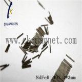 CK-258 de Rang &Phi van de Magneet NdFeB; 0.3*3mm