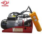 220V barata PA polipasto de cable eléctrico con mando a distancia