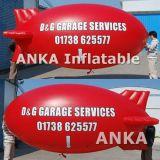 Популярные красный рекламы надувные Airship гелия из ПВХ