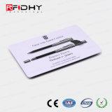 13.56MHz legível e gravável cartão RFID para controle de acesso