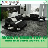 Wohnzimmer-modernes Sofa-Leder-Sofa