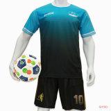 Healong dernière conception de la sublimation d'enfants uniformes de soccer de Soccer Jersey