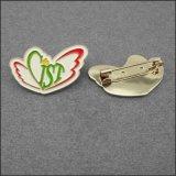 금속 공룡 모양 단단한 사기질 접어젖힌 옷깃 Pin 기장 상징을 개인화하십시오