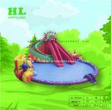 Het Park van het thema Opblaasbaar met Reuze Zwembad