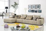 3 populares lugares sofá de canto Fabric set Sala Escura