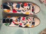Ботинки холстины женщин, вскользь ботинки, 6000pairs в руках