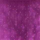 Gota cortina de luz LED 6m ancho 2m