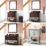 Fed-341 36 Inch Hot Sales Gabinete de banheiro moderno de madeira maciça