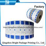 La impresión flexo de PE laminada de papel en los tambores (40g+15gPE)
