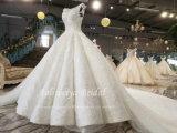 Camada Muilt Aoliweiya vestido de casamento com Petticoat