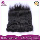 Индийский бразильского Virgin Реми человеческого волоса кружева фронтальной закрытия