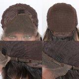 La peluca sintetizada rubia del frente del cordón de Ombre para mano de la pieza de las mujeres la media de la peluca recta sedosa larga lateral del cordón ató 20~26 pulgadas de disponible