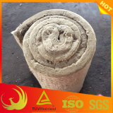 Manta de lana mineral de roca Material aislante con malla de alambre