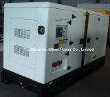 тип молчком тепловозного генератора 125kVA 100kw Yuchai звукоизоляционный