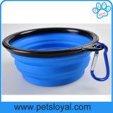 Voyage de chiens de l'eau pliables bol bol Pet en silicone
