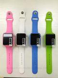 Téléphone intelligent unisexe de montre de Bluetooth avec l'appareil-photo 0.3m (G11)