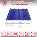 Hoja de acero prepintada trapezoidal ligera del material para techos