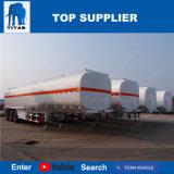 De Tank van de Opslag van de Brandstof van de Oplegger van de Vrachtwagen van de Tanker van de Stookolie van de Tank van de Opslag van de Olie van de Aanhangwagen van de Tank van het Roestvrij staal van de titaan