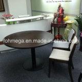 De ronde Houten Eettafel van het Hof van het Voedsel van het Winkelcomplex voor Verkoop