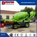 auto auto 1.5m3 que carrega o caminhão do misturador concreto com o PLC que pesa o sistema