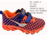 Nr 51608 de Schoenen van de Voorraad van de Sport van Flyknit van de Schoenen van het Jonge geitje