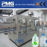 Cadena de producción automática del agua mineral de la botella 5L y máquina de rellenar