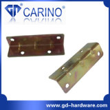 (W530)鉄の金属の壁掛けの平らな角の波カッコ