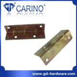 鉄の金属の壁掛けの平らな角の波カッコ(W530)