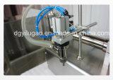 Pistón semiautomático Beverage Máquinas de llenado de líquidos de flujo libre