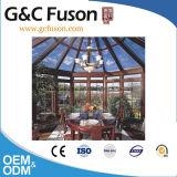 직업적인 디자인 아름다운 Prefabricated Sunhouse 또는 알루미늄 프레임 유리 집