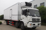 Dongfeng 3 차축 25tons에 의하여 냉장되는 화물 자동차 트럭