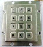 Layout 3X4 de teclado numérico a prova de água e de metal (KMY3502J-1)