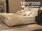 2016의 새로운 수집 침대 고품질 침대 Ls 412 새로운 디자인 침대 디자인 호텔 침대 이탈리아 가짜 가죽 침대