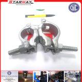 Kundenspezifisches Schlauch-Präzision Stainles Stahlblech-Metallanhebende Glasbohrrohrklemme (Aluminium, Legierung)