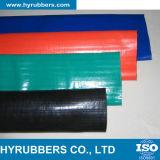 PVC Layflat帝国サイズのホース、位置平らなPVCホース