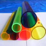 2015 tubulações acrílicas coloridas/tubo colorido de PMMA